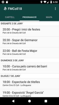 Festa Major del Coll 2018 apk screenshot