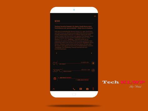 Tech For KLWP apk screenshot