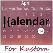 kCalendar for Kustom icon
