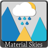 Material Skies Weather Icons icon