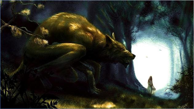 Nice Werewolf Wallpapers poster
