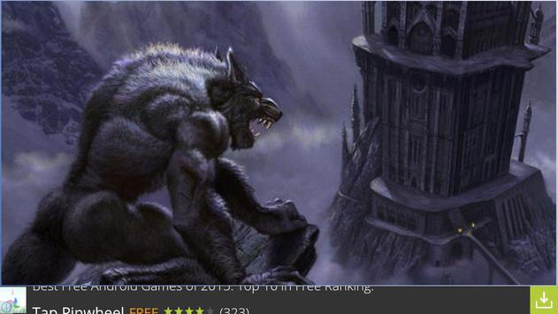 Nice Werewolf Wallpapers screenshot 4