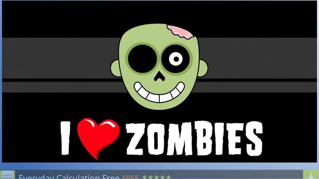 Nice Zombie Wallpapers poster