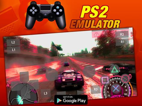 Free HD PS2 Emulator - Android Emulator For PS2 poster