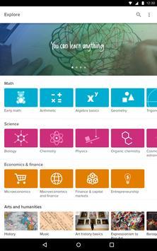 Khan Academy apk screenshot