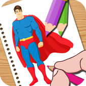 Super Hero Coloring for Kids icon