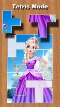 Princess Shapes Puzzle 4 Kids poster