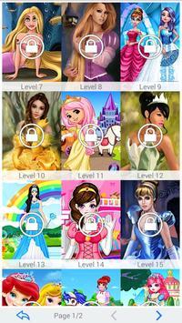 Princess Shapes Puzzle 4 Kids apk screenshot