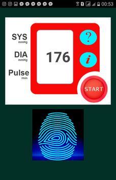 Finger Blood Pressure Prank screenshot 1