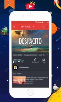 ♛ Kingtube - Music Video Background Float Player.. screenshot 7