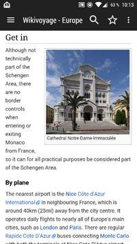 WikiVoyage Europe - Offline Travel Guide screenshot 5