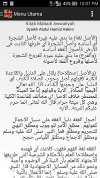 Ushul Fiqh Mabadi Awwaliyah screenshot 2