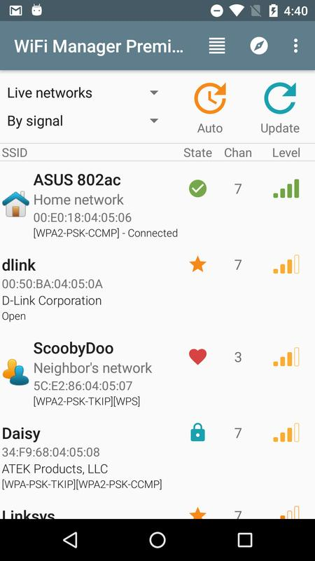 WiFi Manager APK Download - Free Productivity APP for ...