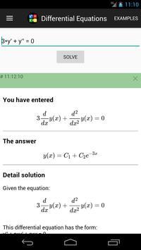 Differential Equations screenshot 2