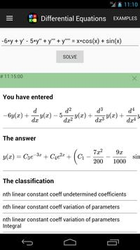 Differential Equations screenshot 3