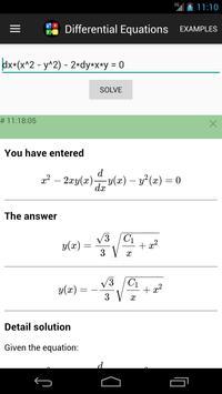 Differential Equations screenshot 4