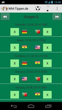 Football Tipping World Cup apk screenshot