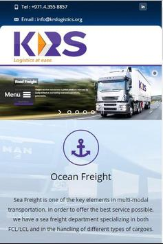 KRS Logistics poster