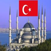 Turkey Prayer Timings -Islamic icon