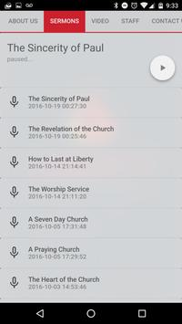 Liberty Baptist Church apk screenshot