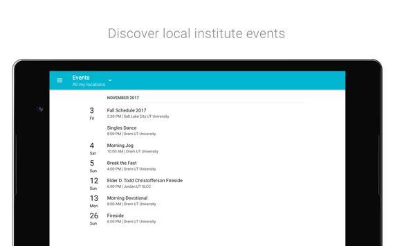 LDS Seminary & Institute apk screenshot