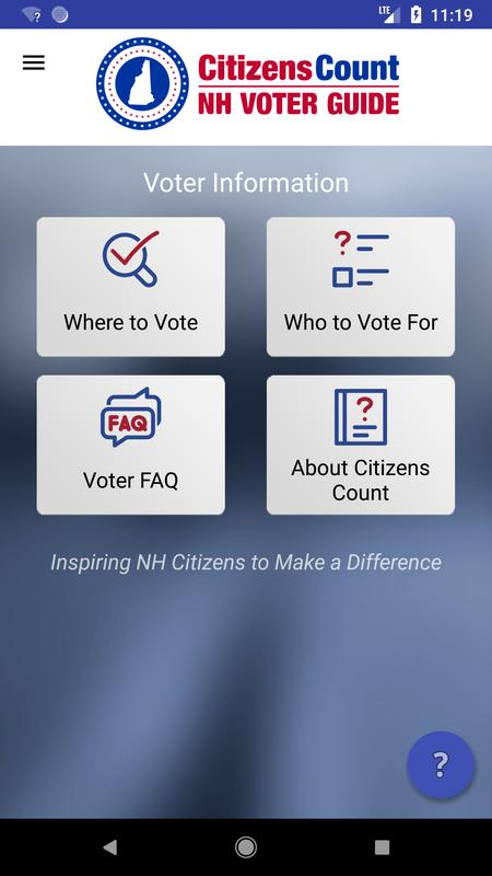 Citizens count nh voter guide for android apk download.
