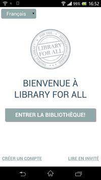 Library For All poster