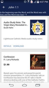 Catholic Study Bible App apk screenshot