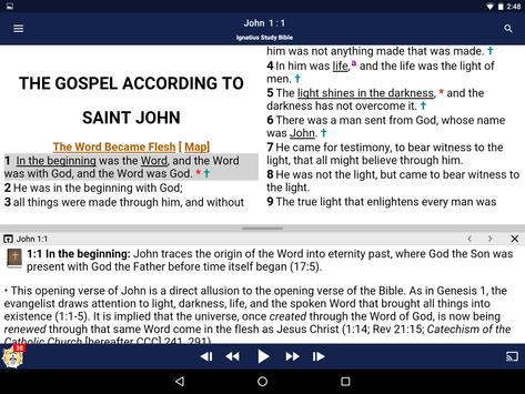 Catholic Study Bible App screenshot 9