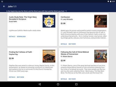 Catholic Study Bible App screenshot 13