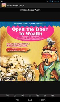 Open The Door To Wealth apk screenshot