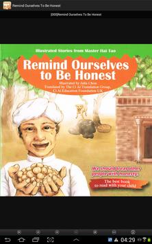 Remind Ourselves To Be Honest poster