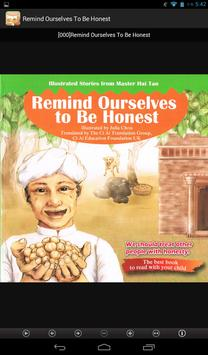Remind Ourselves To Be Honest apk screenshot