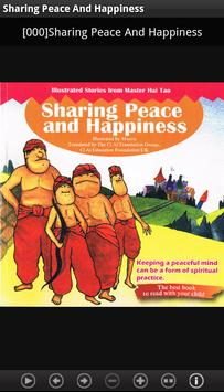 Sharing Peace And Happiness poster