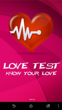 Love Test poster