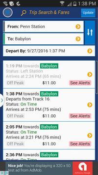 LIRR TrainTime apk screenshot