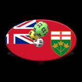 Ontario winning numbers icon