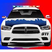 Toddler Kids Car Toy Police icon