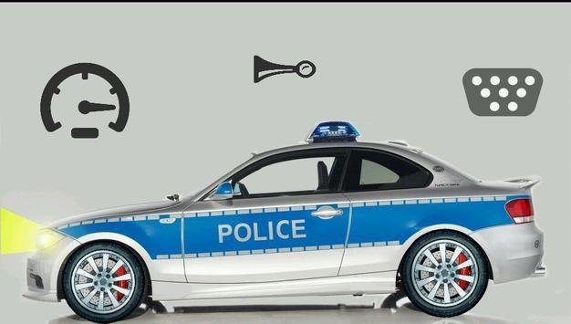 Toddler Kids Car Toy Police screenshot 3