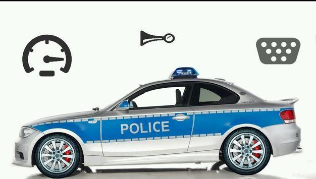 Toddler Kids Car Toy Police poster