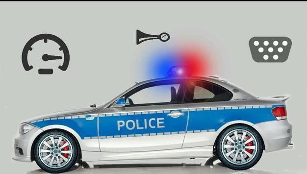 Toddler Kids Car Toy Police screenshot 1