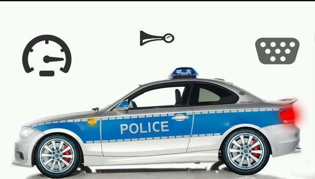 Toddler Kids Car Toy Police screenshot 2