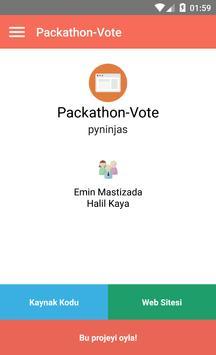 Packathon screenshot 2