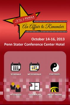 PASFAA 2013 Conference poster
