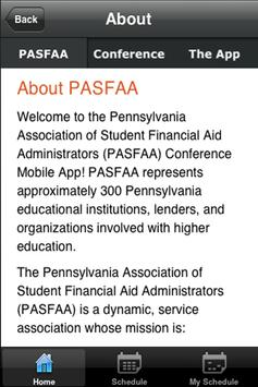 PASFAA 2013 Conference screenshot 3