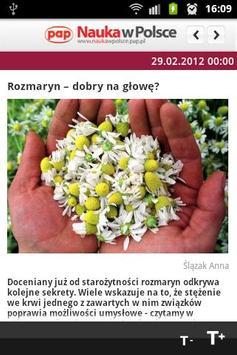 Science and Scholarship Poland apk screenshot