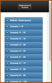 Shakespeare's Sonnets & Analysis poster