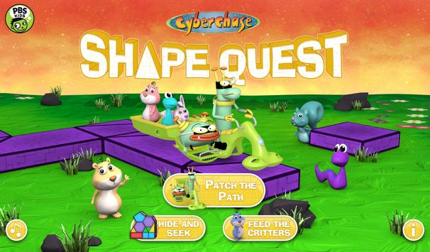 CyberChase Shape Quest! poster
