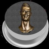 CR7 Siuu Button icon