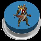 Leeroy Jenkins Button icon